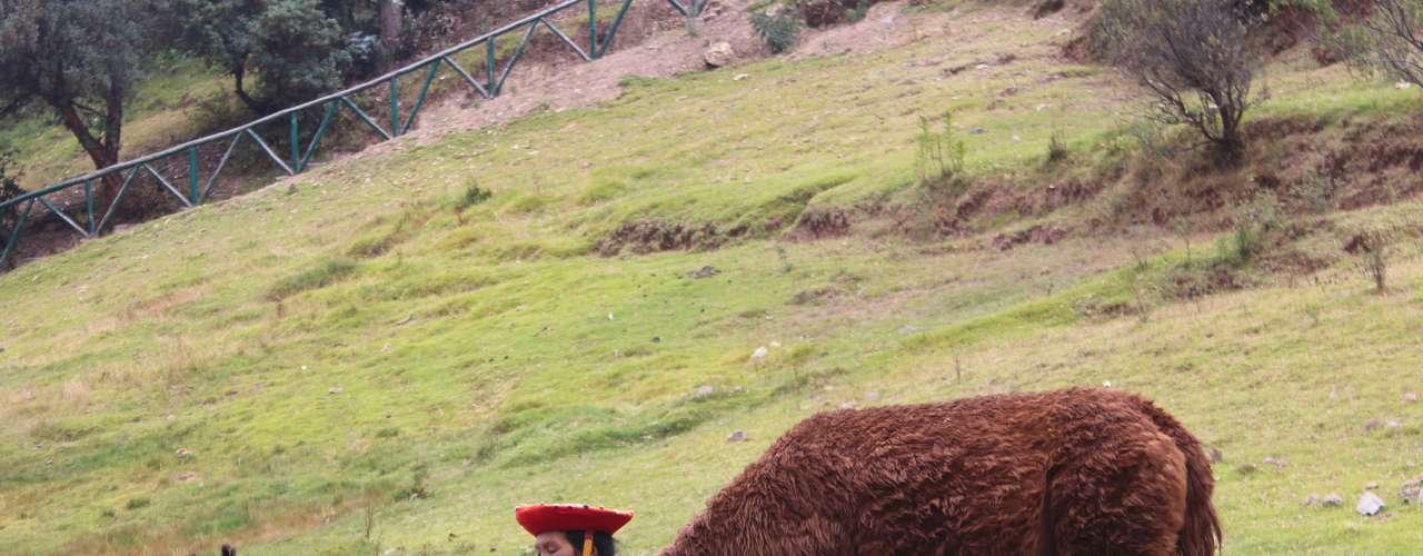 Na época dos incas o santuário possuía ainda um jardim onde era praticado o cultivo experimental