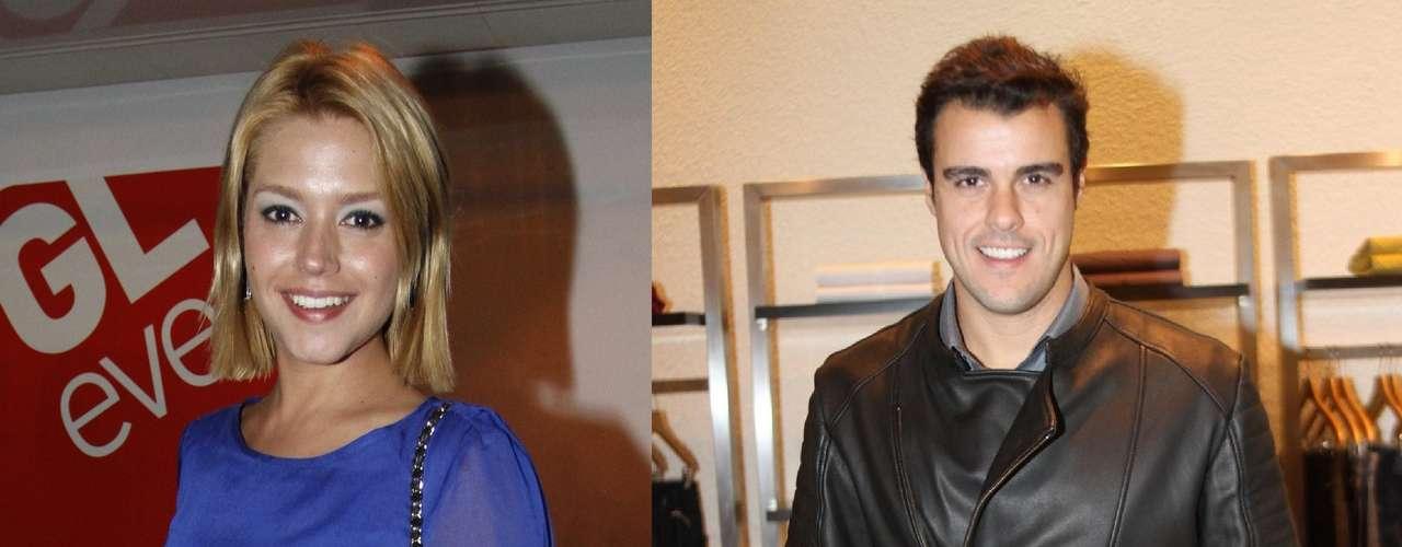 Thais Fersoza e Joaquim Lopes se separaram logo após a lua-de-mel, em 2011. Dias depois, Joaquim apareceu ao lado da também atriz Paola Oliveira