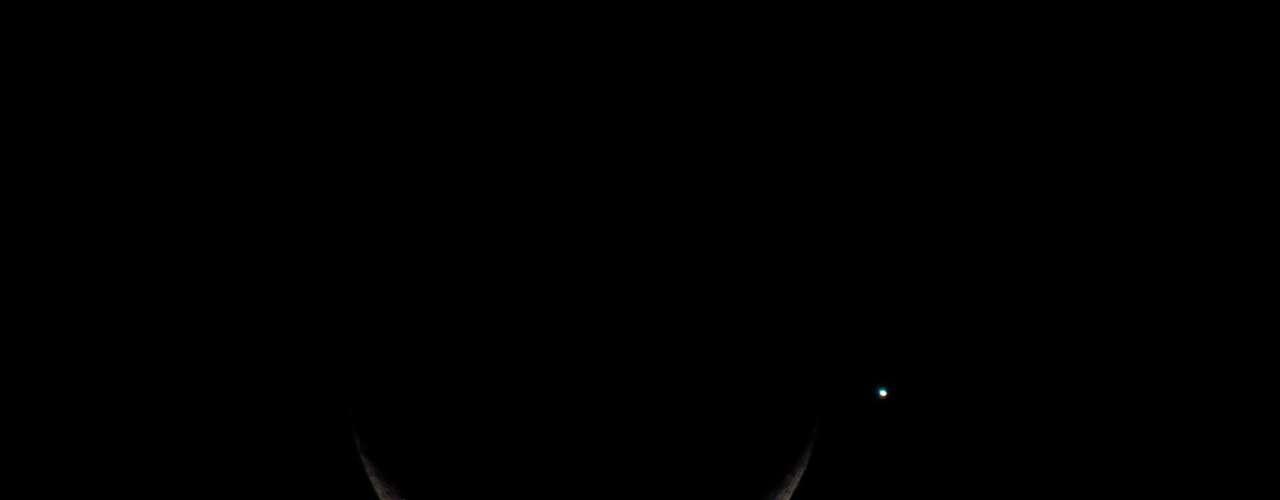 Em Itaguaí, no Rio de Janeiro, a ocultação de Vênus não ocorreu; segundo a agência Climatempo, só foi possível visualizar a Lua ocultando Vênus em Santa Catarina e no Rio Grande do Sul