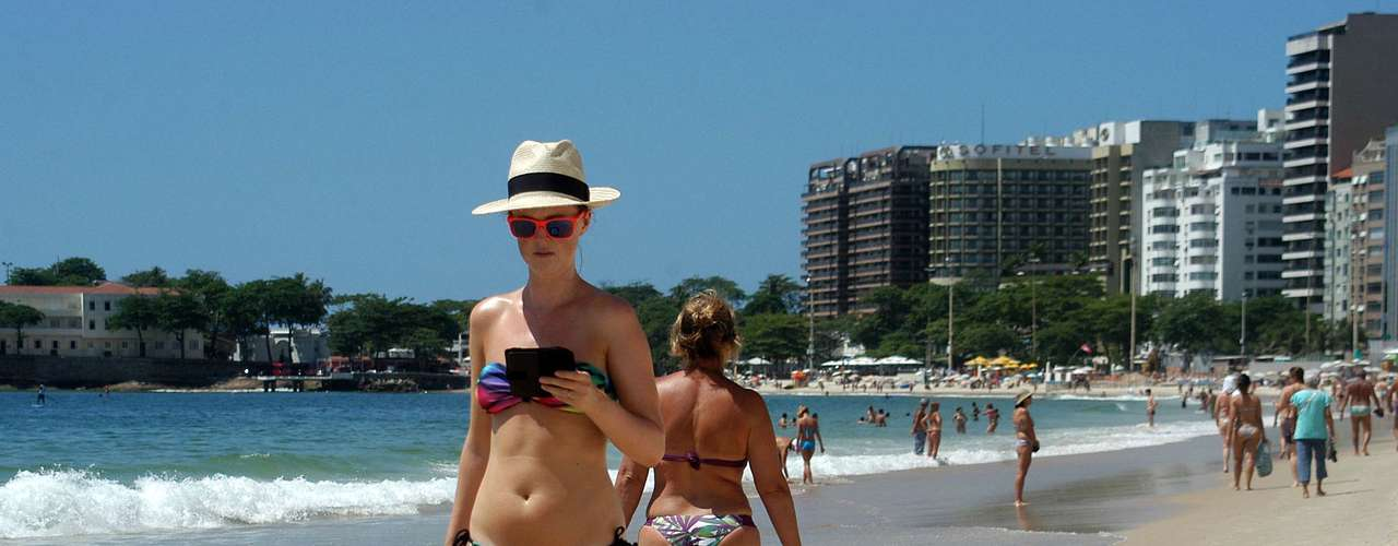 14 de novembro - Após registrar recorde de calor nesta semana, Rio tem máxima de29ºC nesta quinta-feira, véspera de feriadão