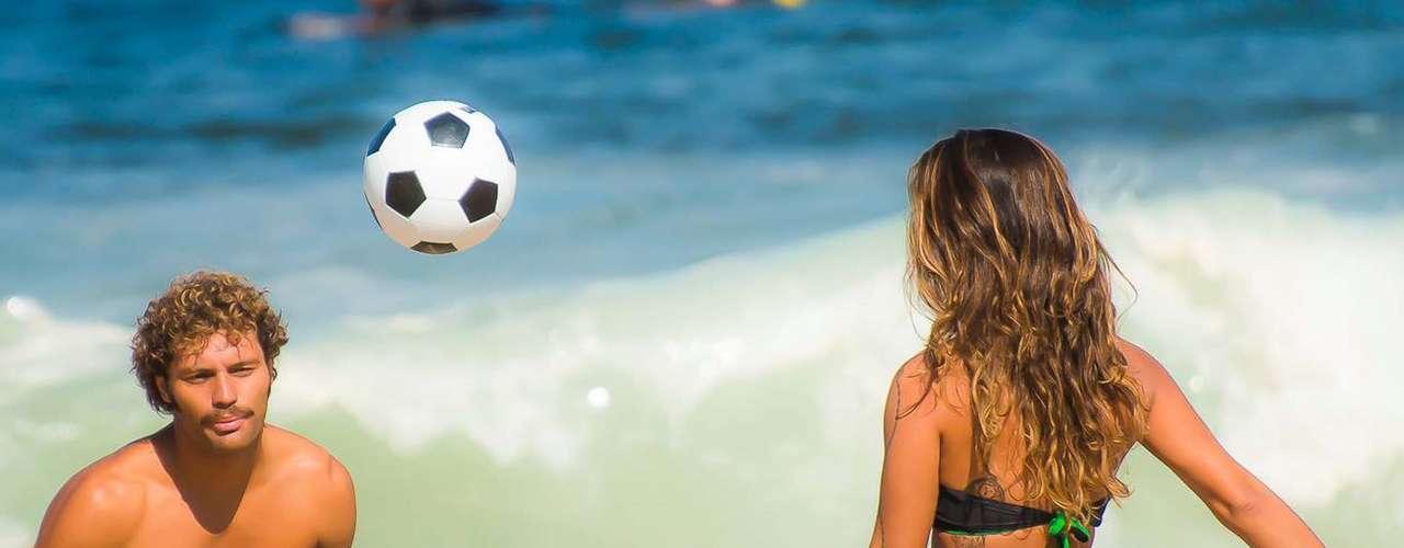 8 de agosto - O calor deve permanecer forte até sábado no Rio. Amanhã há previsão de chegar a34ºC