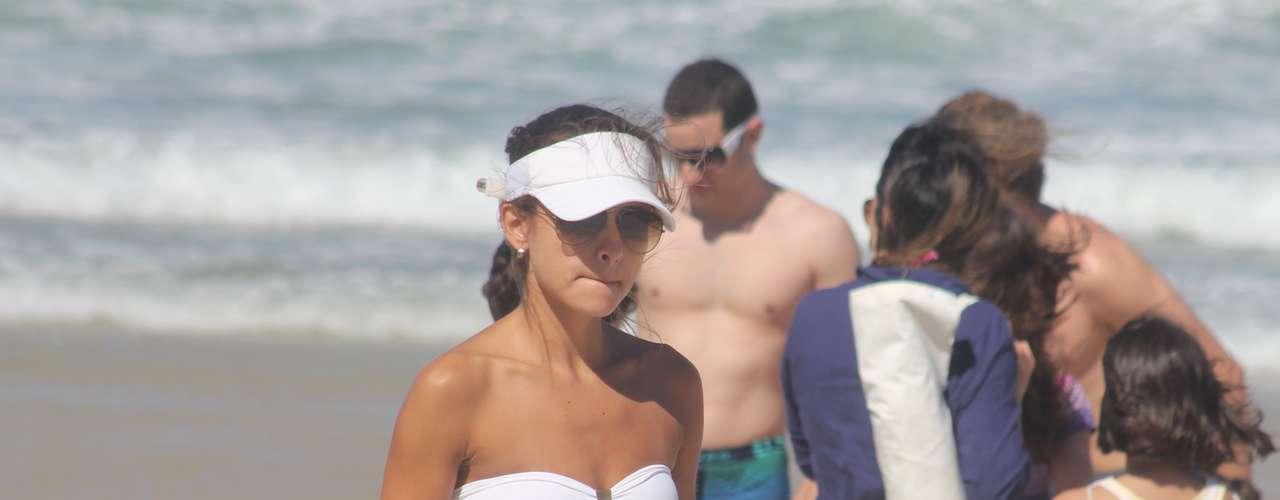 20 de outubro - O domingo foi de praia em Florianópolis