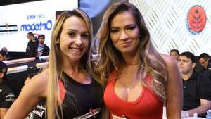 Ex-BBB arranca suspiros em evento paulista de MMA Video: