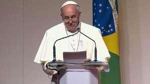 Papa se despede com até breve e diz que já sente saudades Video: