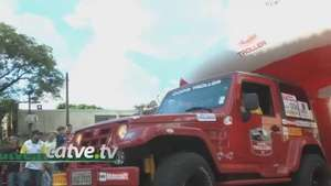 Pilotos e navegadores participam do Rally Paraná Video: catve
