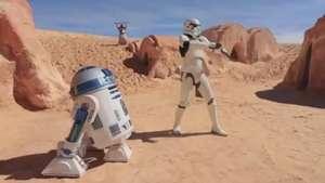 Clipe de 'Happy' ganha versão com personagens de Star Wars Video: