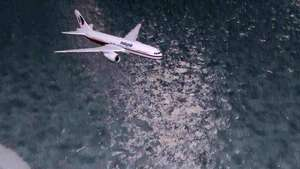 Animação: o desaparecimento do Boeing da Malaysia Airlines Video: AFP