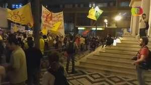 Porto Alegre tem novo protesto contra aumento da tarifa Video: