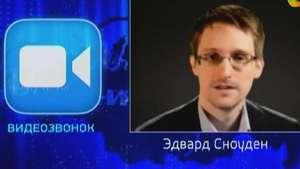 Na TV, Snowden questiona Putin sobre vigilância na Rússia Video: AFP