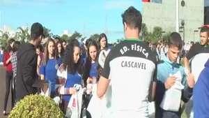 Feira das Profissões reúne 1,5 mil estudantes na FAG Video: