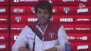Tá em casa! Kaká relembra bons momentos no Morumbi Video: