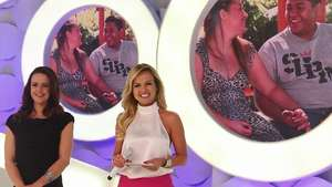 Eliana se diverte com convidados nos bastidores do programa Video: