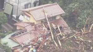 Japão teme novos deslizamentos em Hiroshima Video: