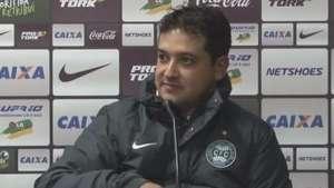 Marquinhos vibra com coincidência na volta ao Coritiba Video: