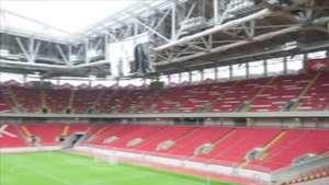 Mas já? Vladimir Putin inaugura a segunda arena na Rússia Video: