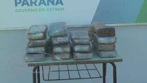 UPS apreende 20 kg de maconha na região norte Video: