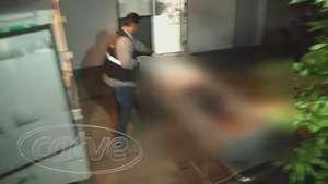 Corpo de mulher atropelada em Nova Aurora é levado para o IML Video: