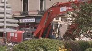 Sobe para oito o número de mortos em desabamento na França Video: