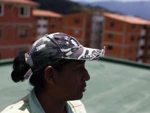 Ela se tornou uma líder comunitária durante o regime chavista Foto: BBCBrasil.com