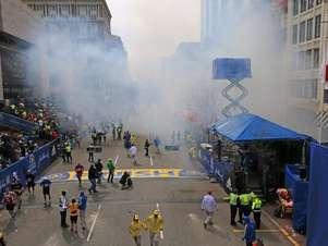La explosión en Boston dejó decenas de heridos Foto: Twitter