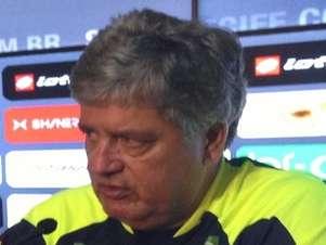 Geninho comentou vitória do Sport com ressalvas Foto: Rodrigo Montenegro / Site Oficial do Sport