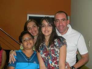 Ricardo tirou os filhos Guilherme e Lorena da escola por estarem sofrendo bullying Foto: Divulgação