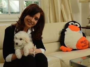 Cristina Kirchner em imagem de arquivo Foto: Divulgação