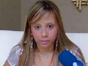 Gessyca Morais durante entrevista ao TV Fama, da RedeTV! Foto: RedeTV! / Reprodução