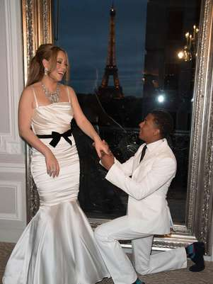 Mariah Carey y Nick Cannon renovaron votos en Pars Foto: Getty Images