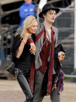 Pete Doherty y Kate Moss una relacin confilctiva Foto: Getty Images