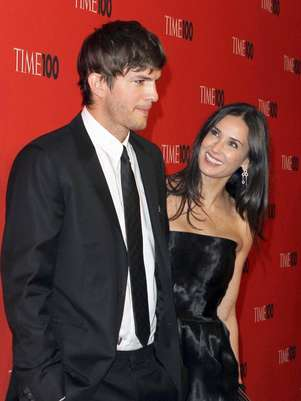 Ashton Kutcher y Demi Moore Foto: Getty Images