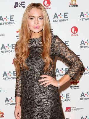 Lindsay Lohan  en el A&E Networks 2012 Upfront en el Lincoln Center en Nueva York en una fotografa del 9 de mayo de 2012. Representantes de un sindicato de actors acudieron al plat donde filma Lohan una pelcula para televisin luego de que la actriz fuera atendida por agotamiento.  Foto: Starpix, Kristina Bumphrey, archivo / AP