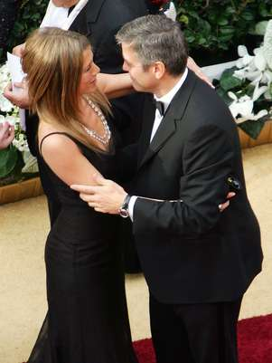 George Clooney y Jennifer Aniston Foto: Getty