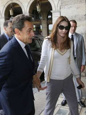 Nicolas Sarkozy y Carla Bruni Foto: Getty Images