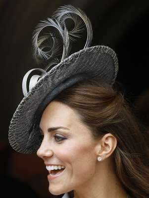 Kate Middleton lleva sombreros de Philip Treacy Foto: Getty
