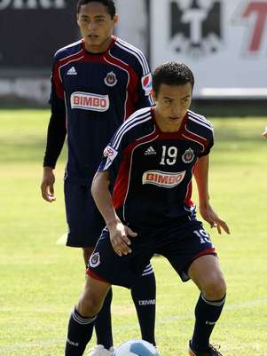 Erik Torres, delantero de Chivas. Foto: Mexsport