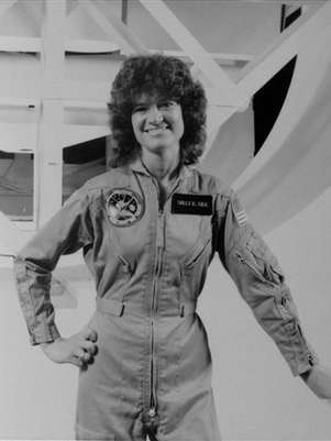 Sally Ride falleci a los 61 aos. Foto: AP