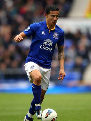 Tim Cahill anotó 68 goles con Everton en 278 partidos disputados. Foto: Getty Images