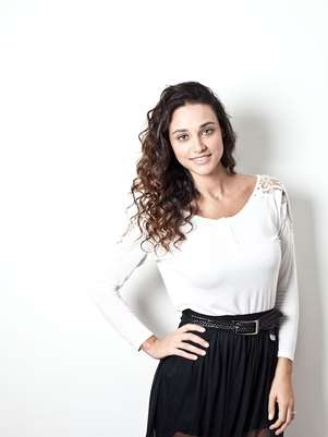 A atriz tem 1,78 m e já chegou a pesar 85 kg Foto: Divulgação