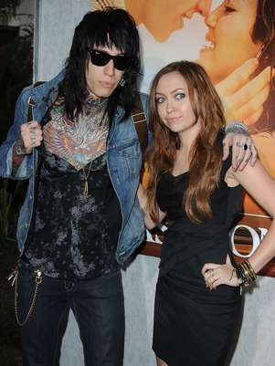Brandi Cyrus junto a su hermano Trent  Foto: Getty Images