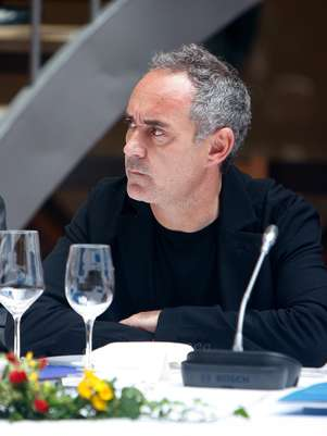 O proprietário do restaurante, Ferran Adrià, pretende reabrir o El Bulli em 2014 Foto: Getty Images