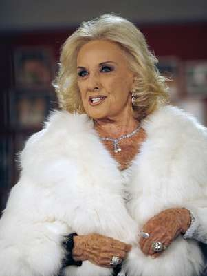 Mirtha Legrand rompi el silencio ante la prensa sobre la salud de la hija de Pampita Foto: Noticias Argentinas