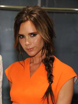 Victoria Beckham participou do Fashion's Night Out em Nova York Foto: Getty Images