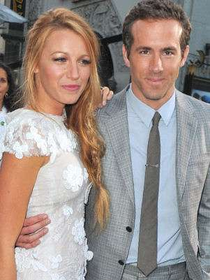Blake Lively y Ryan Reynolds Foto: Getty
