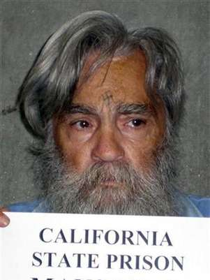Convicted mass murderer Charles Manson is shown in this handout picture from the California Department of Corrections and Rehabilitation dated June 16, 2011 and released to Reuters April 8, 2012. Foto: CDCR / Reuters