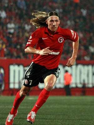 Leandro Augusto, volante de Xolos de Tijuana. Foto: Mexsport