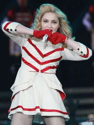 Madonna hizo vibrar con descarga pop a México. Foto: Getty Images