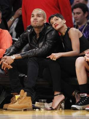 O rapper teria apagado a tatuagem na tentativa de reconquistar Rihanna Foto: Reuters