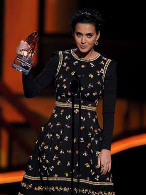 Katy Perry se llevó cuatro estratuillas en los People's Choice Awards. Foto: Getty Images