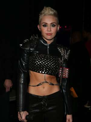 Miley Cyrus quiere besar a Katy Perry Foto: Getty Images